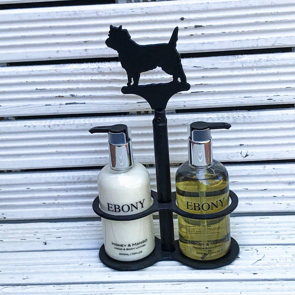 Cairn Terrier hand stand - Cairn Terrier Collectibles