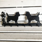 Six hook Cairn Terrier key rack - Cairn Terrier Collectibles