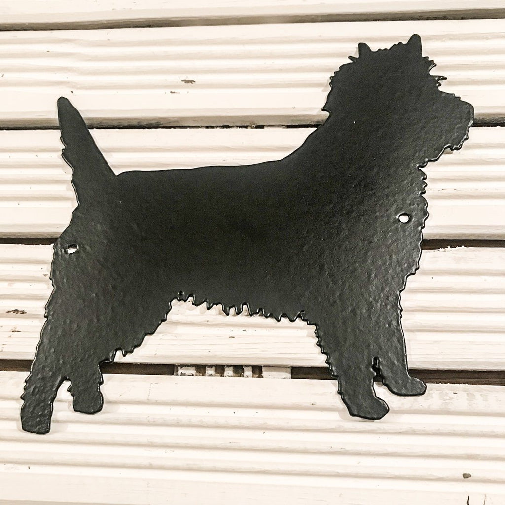 Cairn Terrier silhouette - Cairn Terrier Collectibles