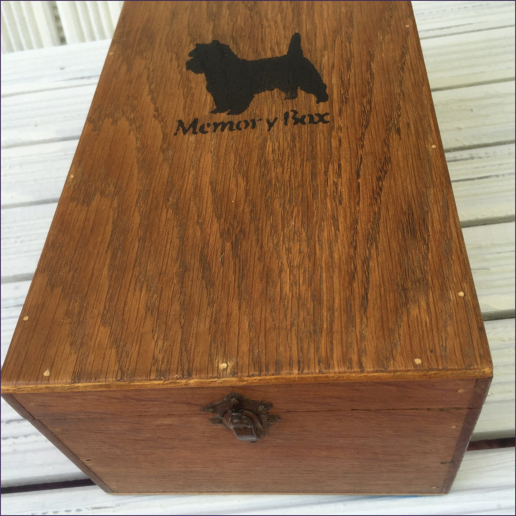 Memory Box (French) - Cairn Terrier Collectibles - 1