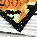 Howloween Big Dog Bandana - Slip-on, double layer (Large) - Cairn Terrier Collectibles