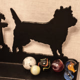 Cairn Terrier trivia tray - Cairn Terrier Collectibles - 5