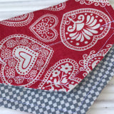 Lacey Love Puppy Bandana - Slip-on, double layer (Small) - Cairn Terrier Collectibles