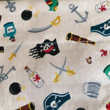 New Pirate Big Dog Bandana - Slip-on, double layer (Large) - Cairn Terrier Collectibles