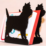 Cairn Terrier letter rack - Cairn Terrier Collectibles