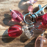 Bag Charm (Blushing Pink) - Cairn Terrier Collectibles