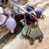 Bag Charm (Perfectly Purple) - Cairn Terrier Collectibles