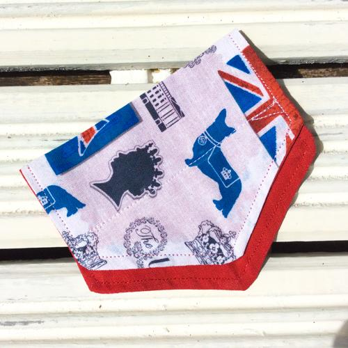 Queen Puppy Bandana - Slip-on, double layer (Small) - Cairn Terrier Collectibles