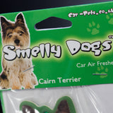 Cairn Terrier Smelly Dog Air Freshener (pack of 3) - Cairn Terrier Collectibles