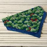 Christmas Sprout Big Dog Bandana - Slip-on, double layer (Large) - Cairn Terrier Collectibles
