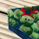 Christmas Sprout Puppy Bandana - Slip-on, double layer (Small) - Cairn Terrier Collectibles