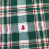 Tartan Pines Bandana - Slip-on, double layer (Medium) - Cairn Terrier Collectibles