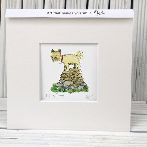 Cairn Terrier art print (Clinton Banbury)