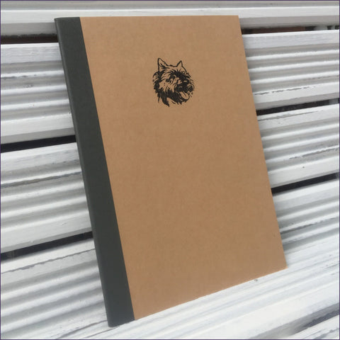 Cairn Terrier Lined Notebook