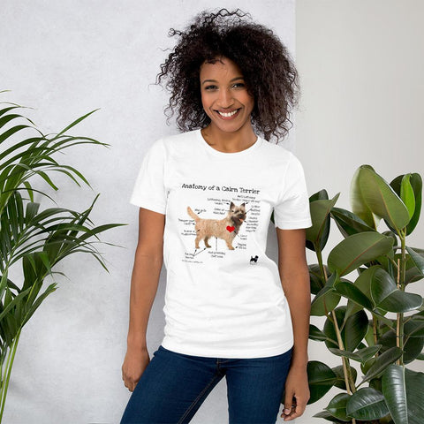 Anatomy of a Cairn Terrier T-Shirt