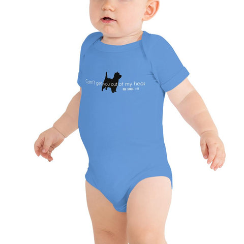 Cairn't get you out of my head Baby bodysuit
