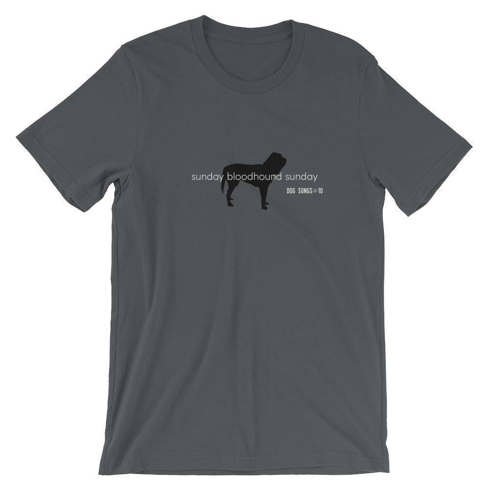 Sunday Bloodhound Sunday T-Shirt - Cairn Terrier Collectibles