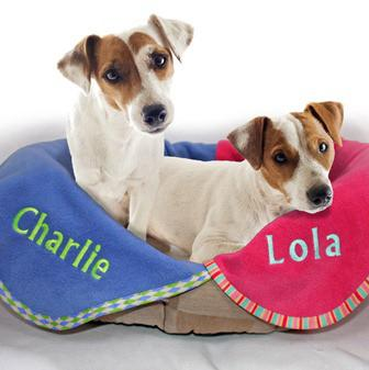 Personalised pet blanket (small)