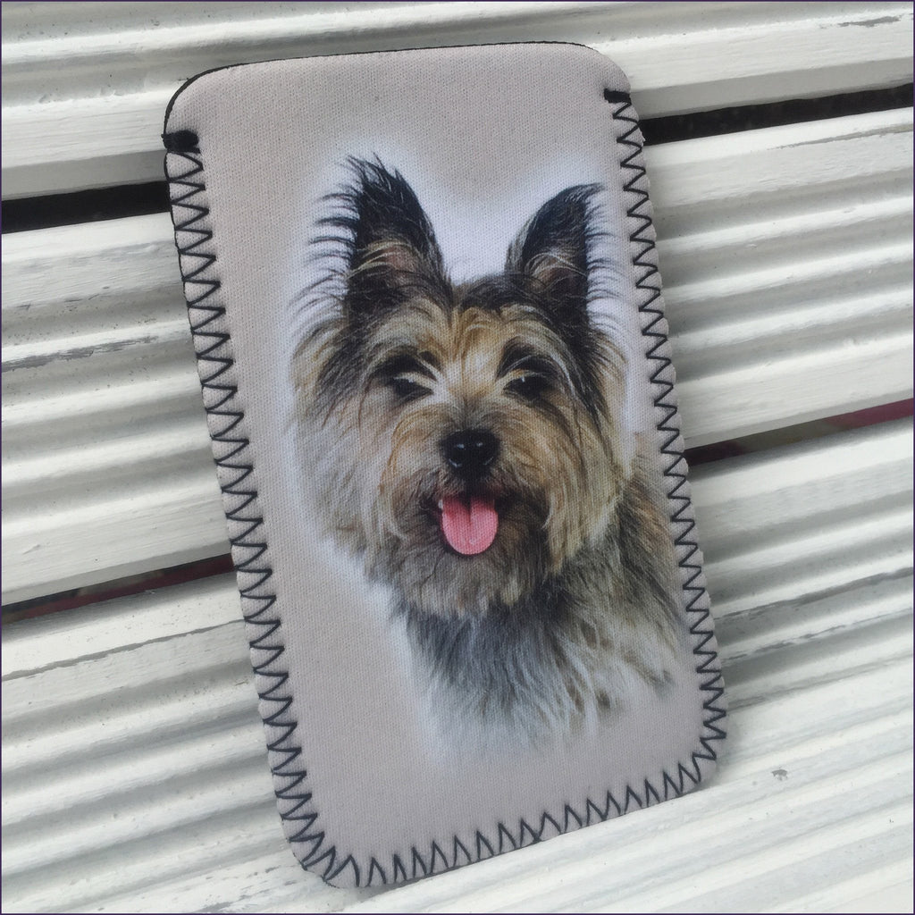 Cairn Terrier Phone Sock - Cairn Terrier Collectibles - 1