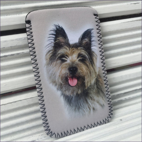 Cairn Terrier Phone Sock