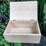 Personalised Memory Box (Welsh Oak) - Cairn Terrier Collectibles