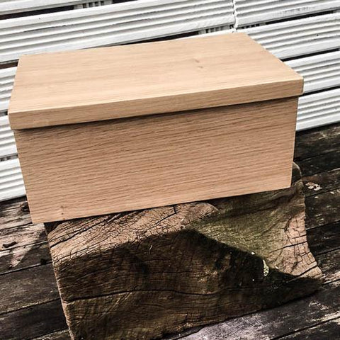 Personalised Memory Box (Welsh Oak)