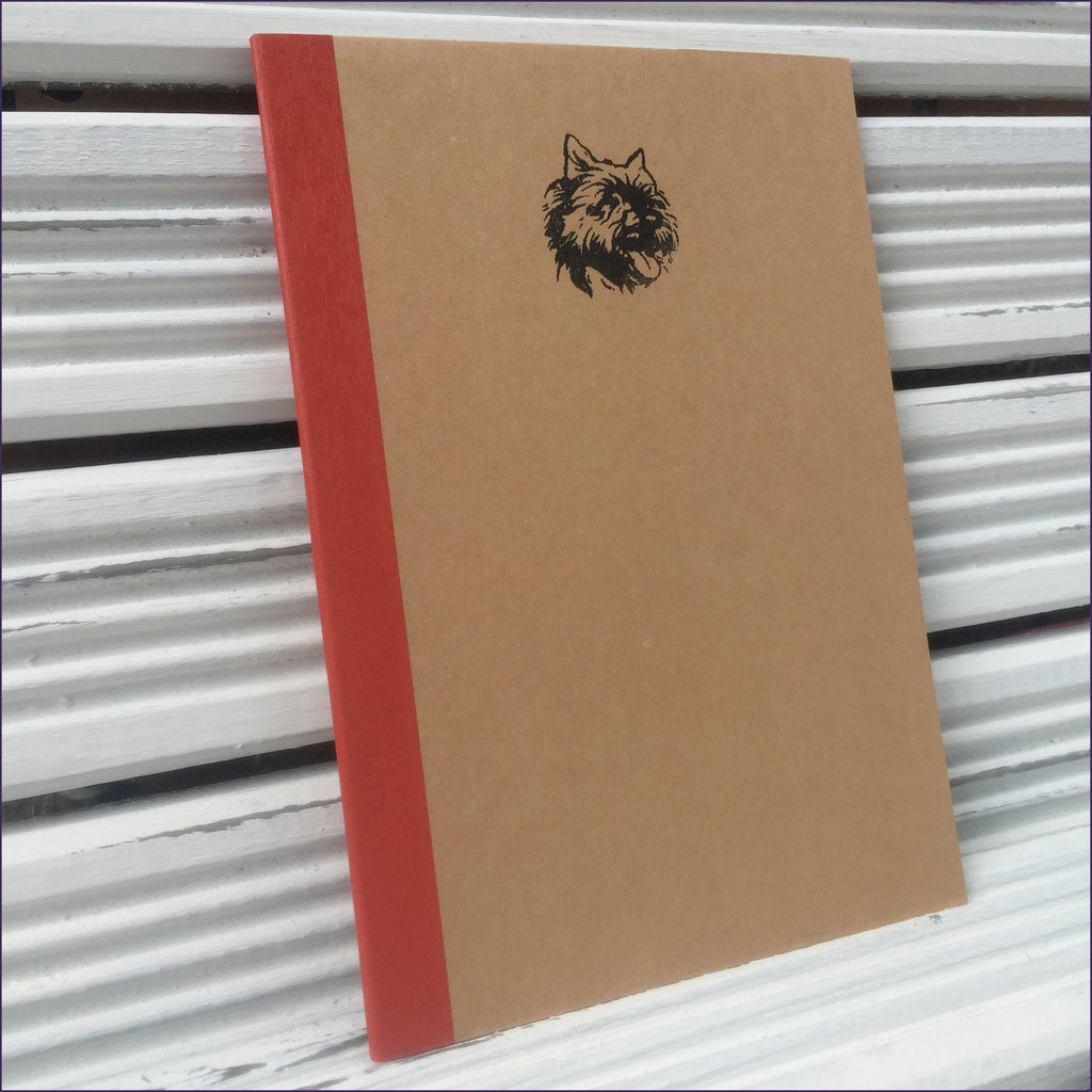 Cairn Terrier Notebook - Cairn Terrier Collectibles