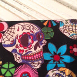 Skull Duggery Bandana - Slip-on, double layer (Medium) - Cairn Terrier Collectibles