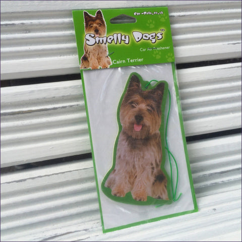 Cairn Terrier Smelly Dog Air Freshener (pack of 3)