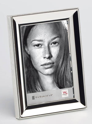 Amelie Silver-Plated Frame