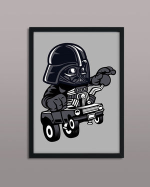 Darth Vader Hot Rod