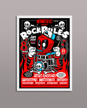 Deadpool Rock Poster