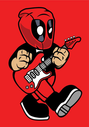Deadpool Rock Star