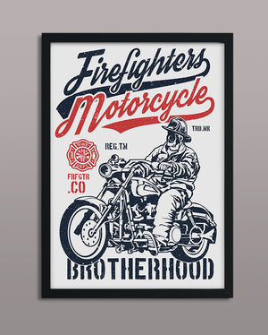 Firefighters Motorcycle