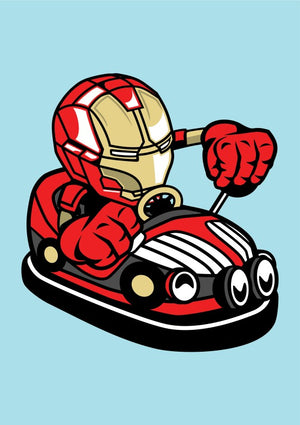 Iron Man Car Toy