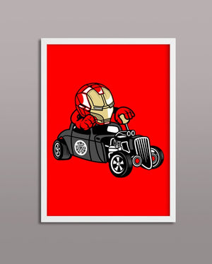 Iron Man Hot Rod