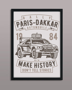 Rally Paris Dakkar Automobile