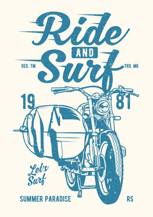 Ride And Surf