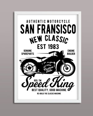 San Francisco Motorcycle