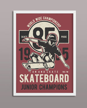 Skateboard Junior Champions