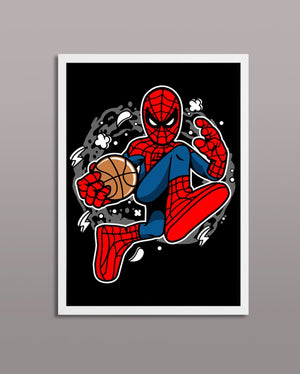 Spiderman Basketball