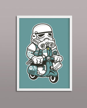 Storm Trooper Scooter