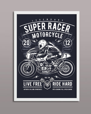 Super Racer Motorcycle