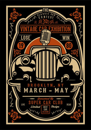 Vintage Car Exhibition