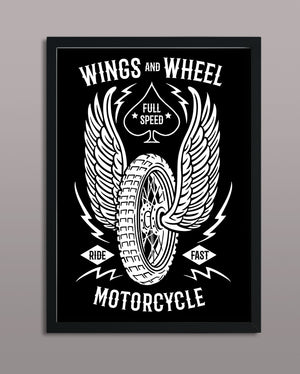 Wings And Wheel