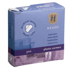 Henzo Photo Corners 500 Transparent