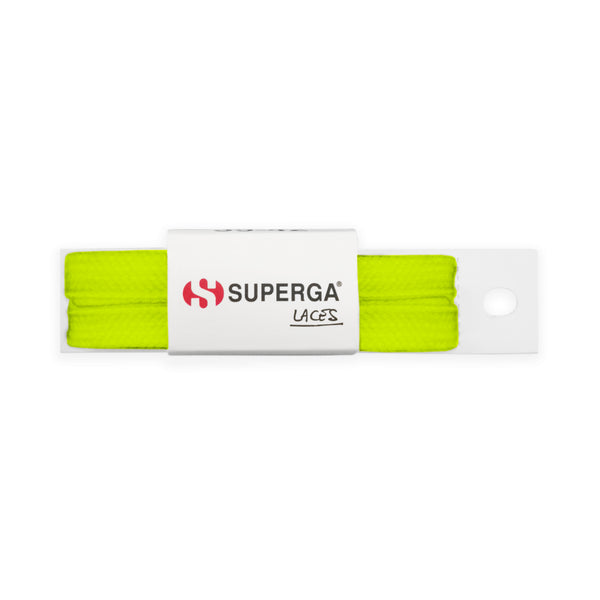 Superga Laces <br> Total Yellow Fluo