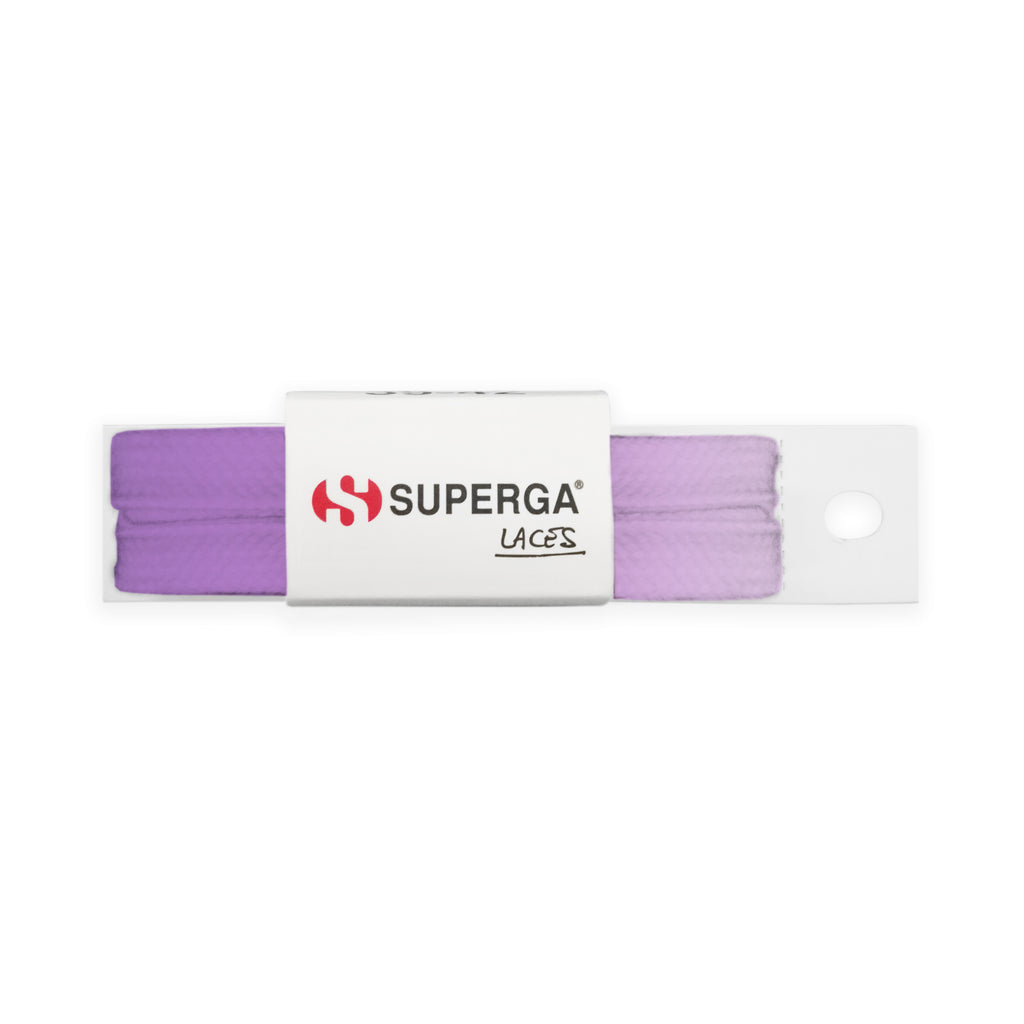 Superga Color Tie Dye Laces <br> Bleached Purple
