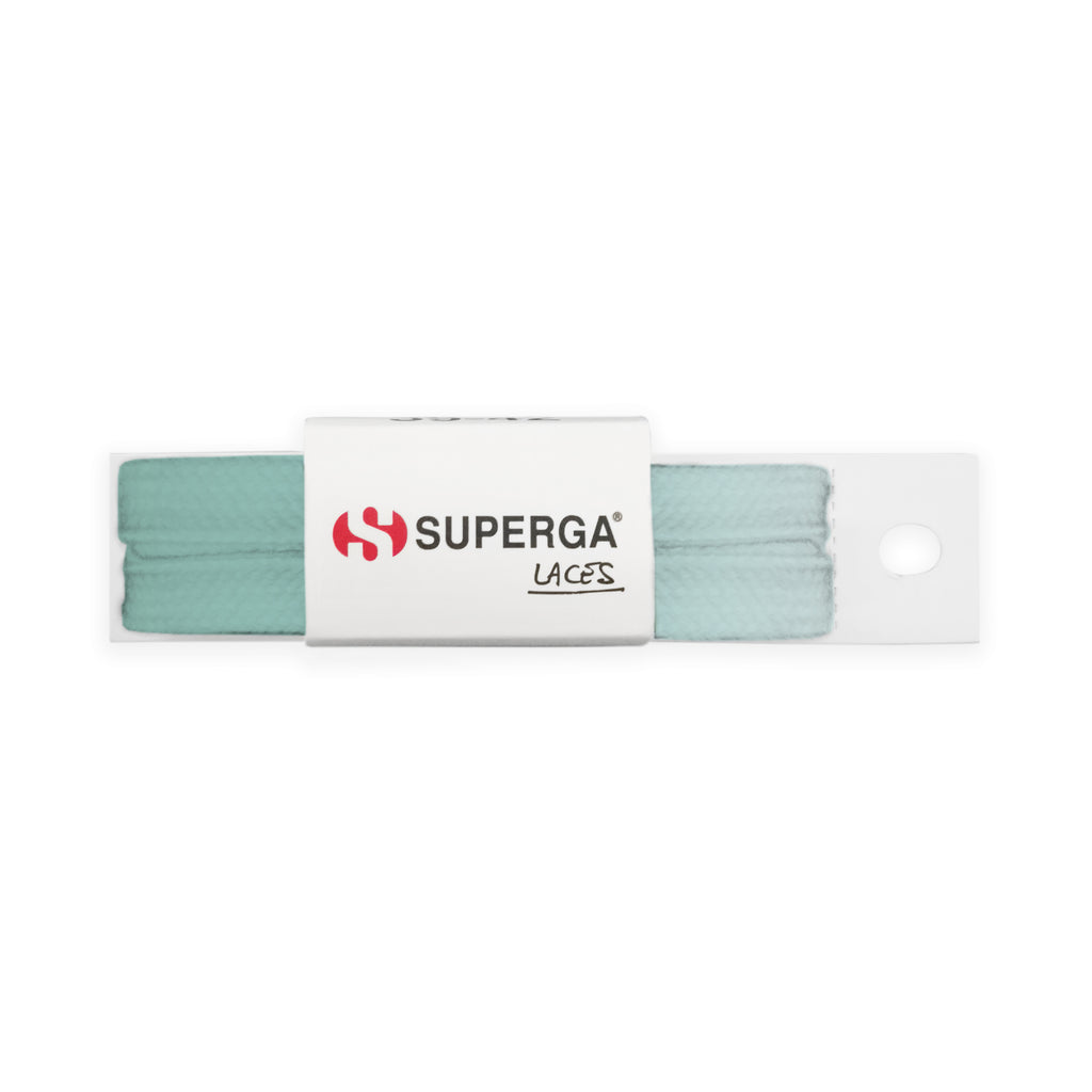 Superga Color Tie Dye Laces <br> Bleached Sage