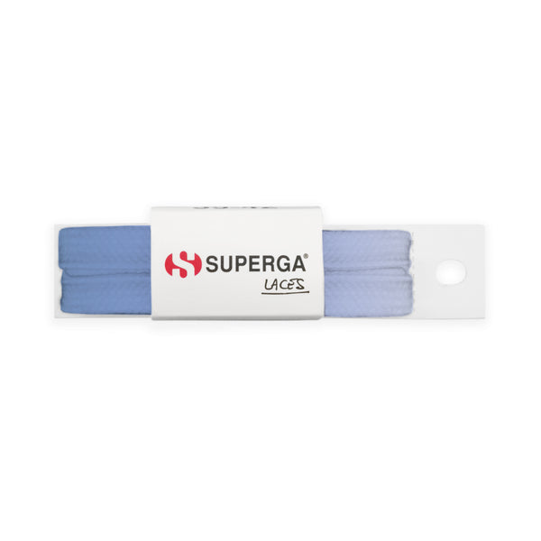 Superga Color Tie Dye Laces <br> Bleached Blue